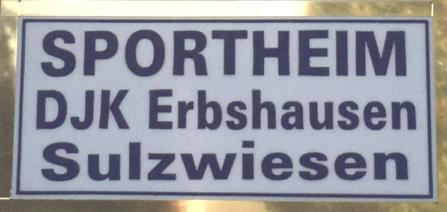 Sportheim DJK Erbshausen-Sulzwiesen